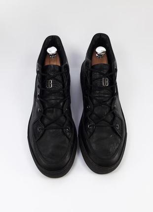 Dirk bikkembergs romania кроссовки с натуральной кожи кеды шкіряні кросівки