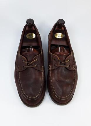 Massimo dutti топсайдеры мокасины с натуральной кожи на шнурках со шнуровкой