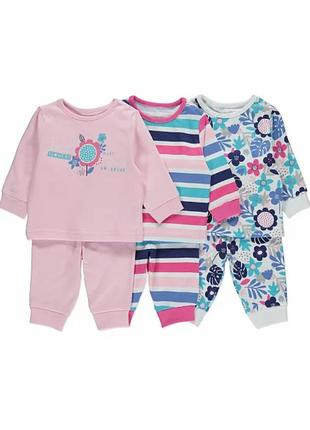 Комплект пижам на 2-3 года george (1шт 230 грн)