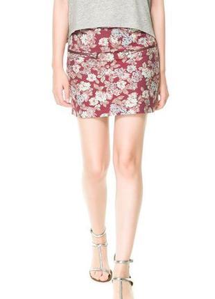 Новая юбка-мини zara