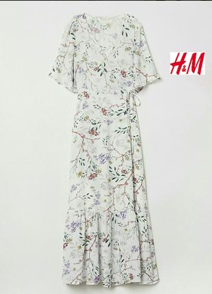 Летнее, воздушное платье из нежной вискозы.h&m.