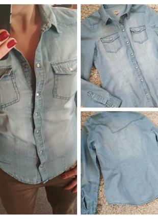Актуальная джинсовая рубашка, only, p. 38
