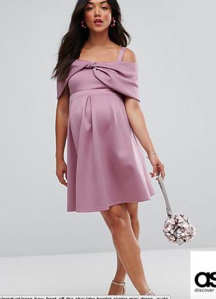Нарядное платье аsos для беременной