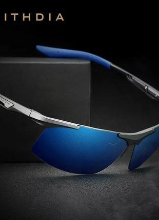 Крутые мужские солнцезащитные очки veithdia 6562