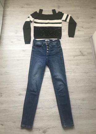 Комплект guess джинсы и свитер