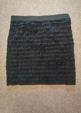 Черная мини юбка michael kors