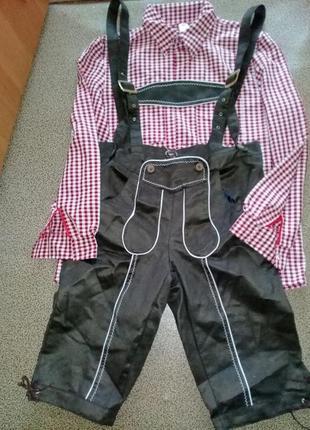 Баварский костюм октовберфест взрослый.