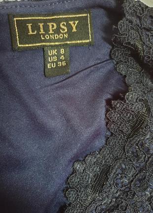 Вечернее кружевное платье lipsy london3 фото