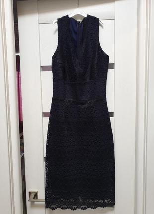 Вечернее кружевное платье lipsy london5 фото