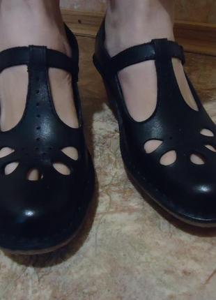 Clarks кожаные туфли
