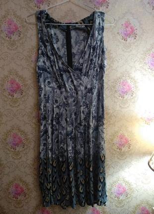 Красивое платье необычной расцветки