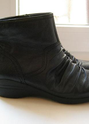 Ботиночки marks&spencer, 100% натуральная кожа, размер 38
