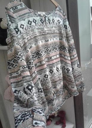 Лёгкая стильная блузка comma 42 р xl