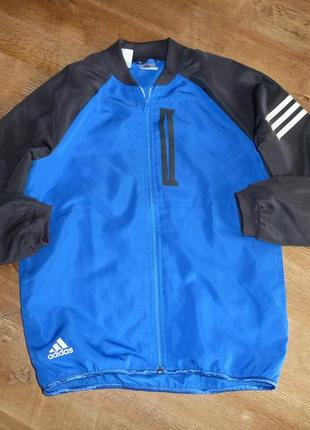 Спортивная куртка, ветровка adidas messi , оригинал, на 11-12 лет