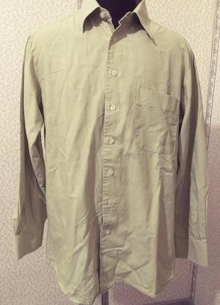 Рубашка мужская. хлопок. м.1 фото