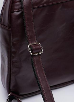 Рюкзак кожаный женский италия4 фото