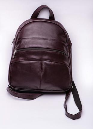 Рюкзак кожаный женский италия1 фото