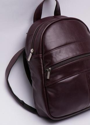 Рюкзак кожаный женский италия2 фото
