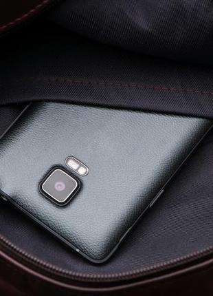 Рюкзак кожаный женский италия5 фото