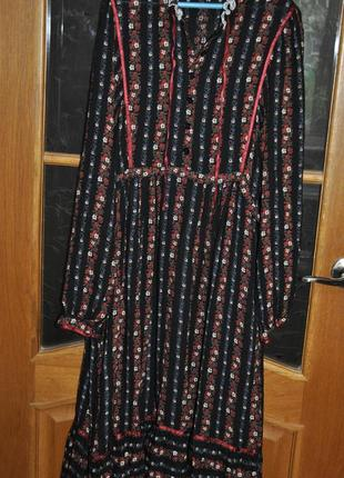 Милое платье в стиле бохо