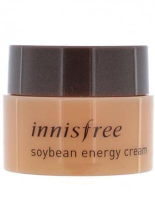 Миниатюра крема на основе сои, 5мл. innisfree soybean energy cream