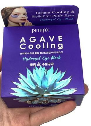 Патчи под глаза petitfee agave cooling {60 шт, корея}