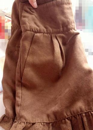 Стильные шорты stradivarius 34р,завышеная талия