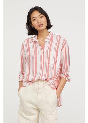 Блуза в полоску hm