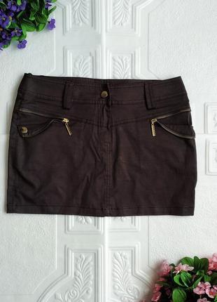 Короткая мини юбка la&b&la