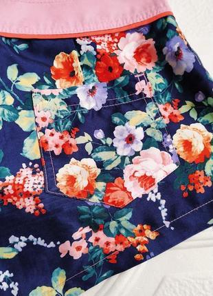 Летние пляжные шорты colin's, в цветочный принт5 фото