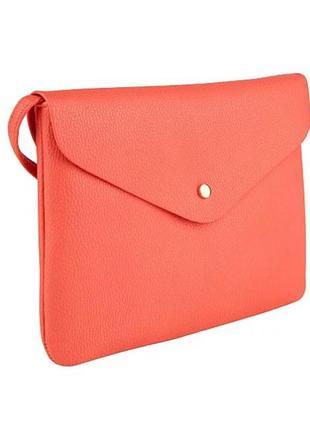 Яркая сумочка кросс-боди, оригинал george, англия, конверт, прямоугольник, планшет