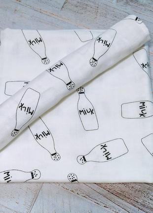 Муслиновая пеленка  + платочек