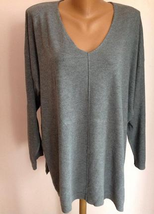 Свободный легкий свитер. /xxl/ brend ovs