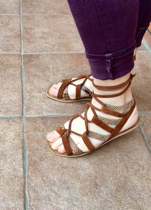 Стильные женские босоножки сандали в наличии англия оригинал