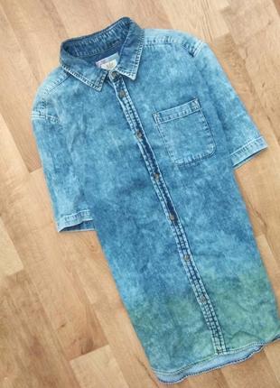 e9754aef035 Джинсовые мужские рубашки 2019 - купить недорого мужские вещи в ...