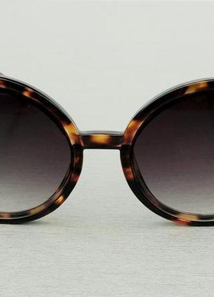 Dolce & gabbana очки женские солнцезащитные круглые тигровые