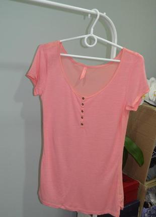 Летняя блуза-футболка bershka