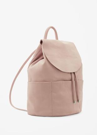 Кожаный рюкзак cos