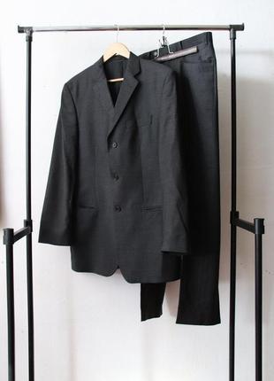 Шерстяной костюм 100% шерсть lanificio dell'olivo per una
