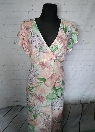 Ніжне плаття,віскоза 10uk