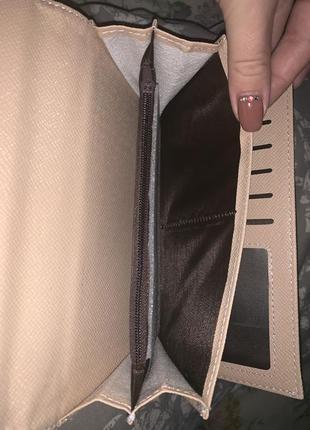 Чёрный замшевый кошелёк2 фото
