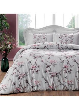 Постельное белье tac сатин - lotte постель цветы еврокомплект