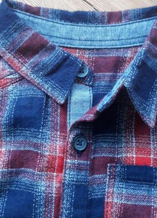 Теплый бодик рубашка с носочками2 фото