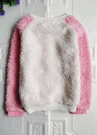 Зимняя махровая плюшевая пижама panda5 фото