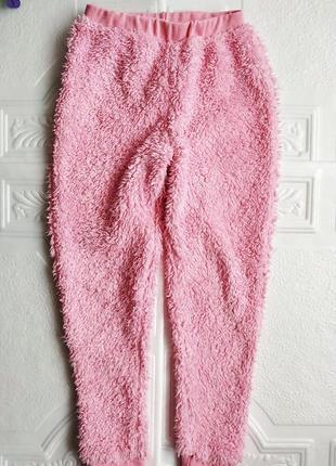 Зимняя махровая плюшевая пижама panda6 фото