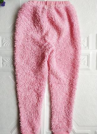 Зимняя махровая плюшевая пижама panda7 фото