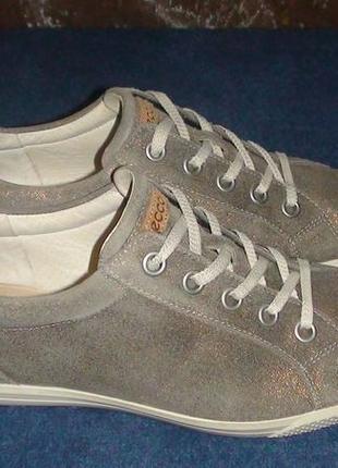 fc043fb87 Золотистые женские кроссовки Ecco 2019 - купить недорого вещи в ...