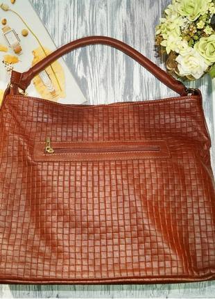 Borse in pelle. италия. кожа. классная вместительная сумка премиум качества