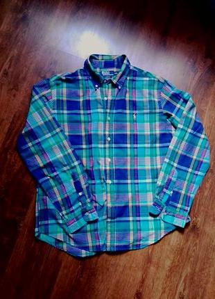 Рубашка в клетку polo