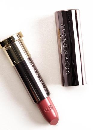 Кремовая помада для губ urban decay vice lipstick ravenswood cream